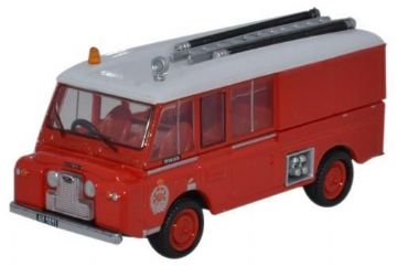 Oxford Diecast 76LRC005 Land Rover FT6 Carmichael New Zealand Fire Service 1:76